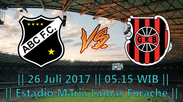 PREDIKSI PERTANDINGAN ABC NATAL VS BRASIL DE PELOTAS 26 JULI 2017