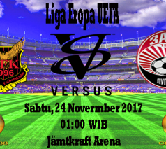 Prediksi Bola Akurat Ostersunds FK VS Zorya 24 November 2017